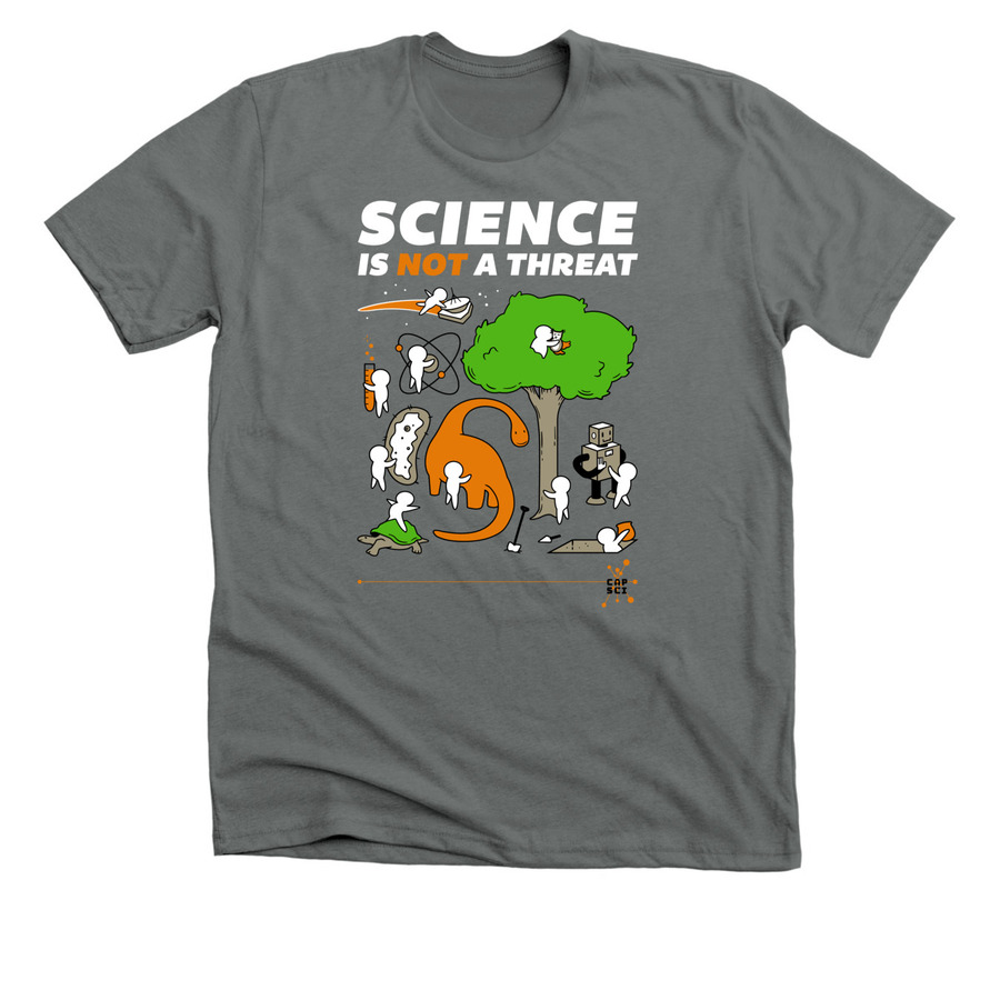 science is not a threat tee